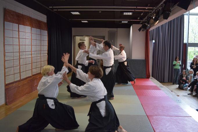 Aikidoaufführung 1