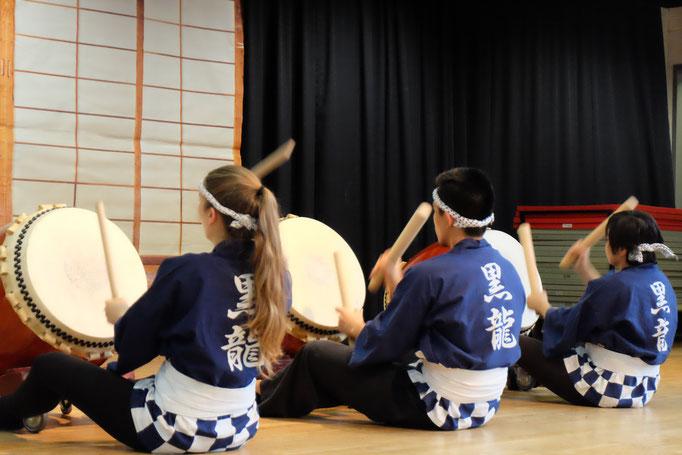 Daiko- Rhythmen, die einen nicht unberührt lassen