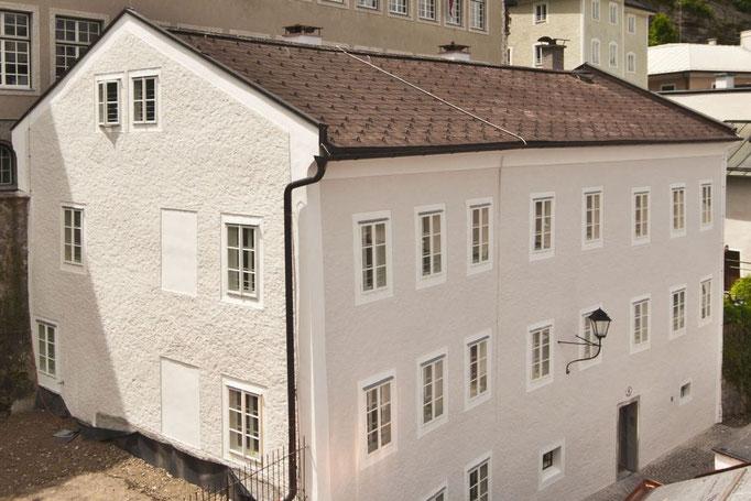 Kastenfenster, Kranz | Salzburg Bierjodlgasse