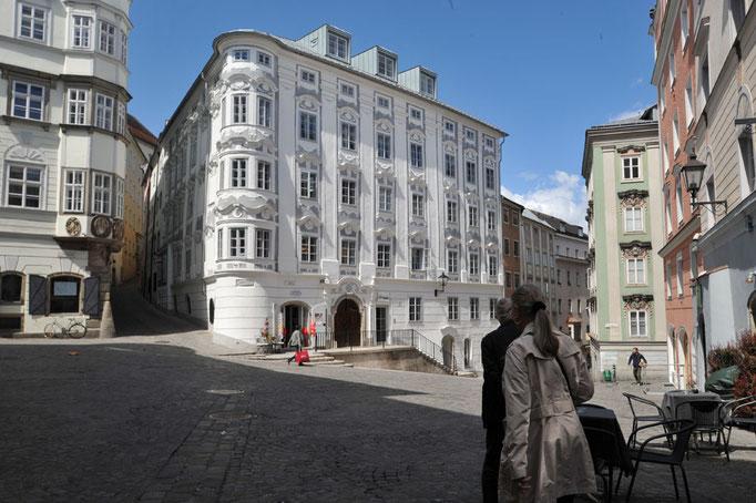 Kastenfenster, Kranz | Linz Apothekerhaus