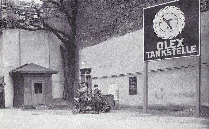 BP tankstation 1922.