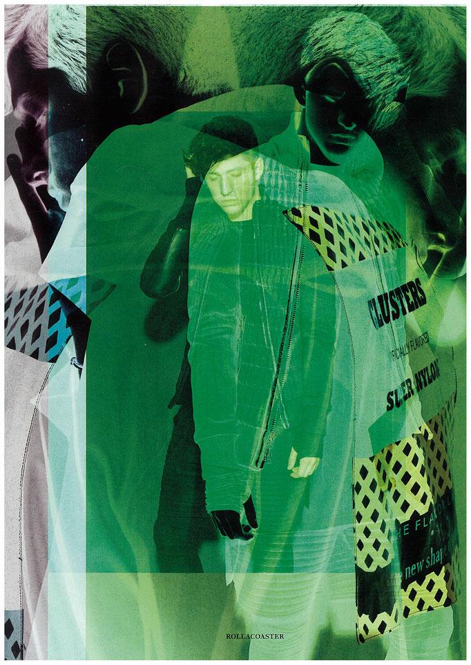 Porter Robinson Roller Coaster magazine