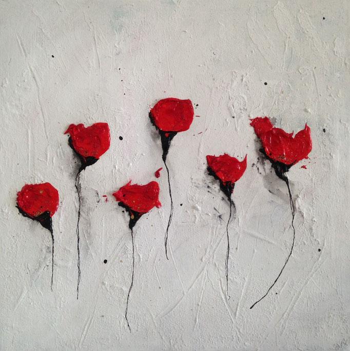 Mohnblüten, 30/30, 2014 verkauft