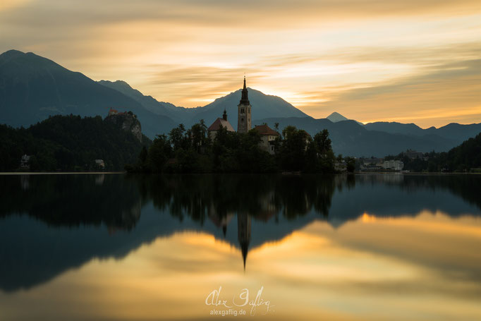"""Golden Lake Bled"" - Bled, Slovenia"