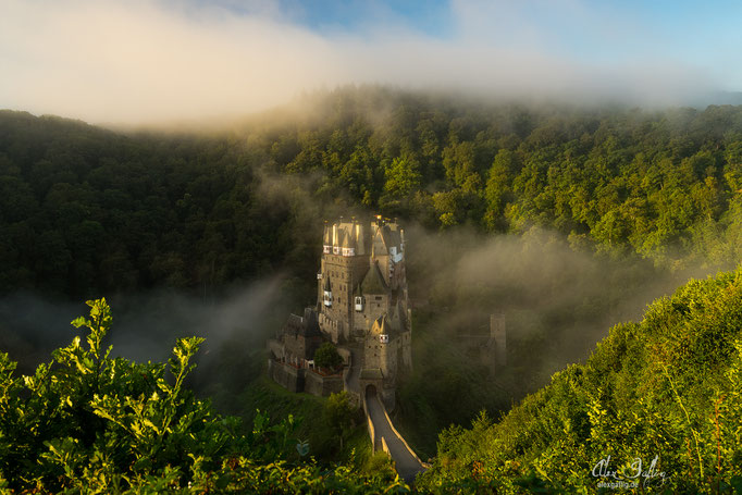 """Misty Morning"" - Eltz Castle, Germany"