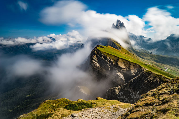 """""""Time flies by"""" - Seceda, Italy"""