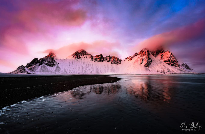 """""""A Song of Ice and Fire"""" - Stokksnes, Iceland"""