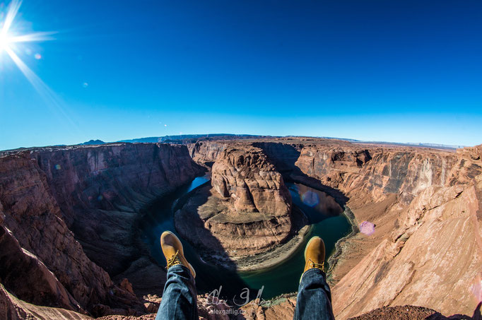 """Wohoo Horseshoe Bend"" - Horseshoe Bend, Arizona, USA"