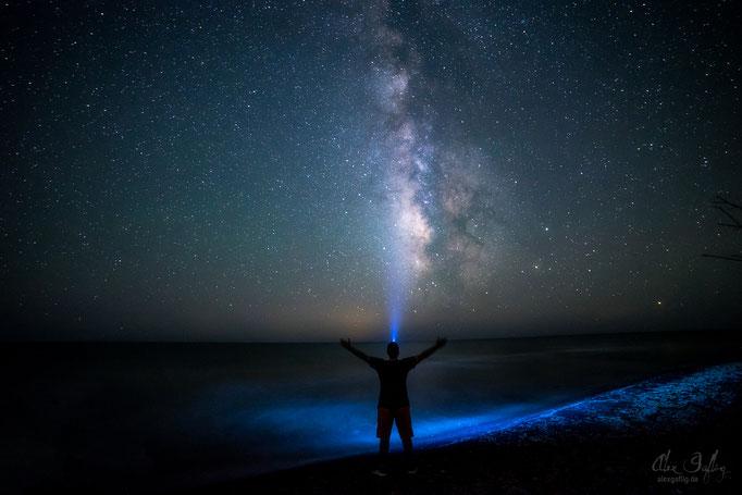 Self Portrait under the Milky way