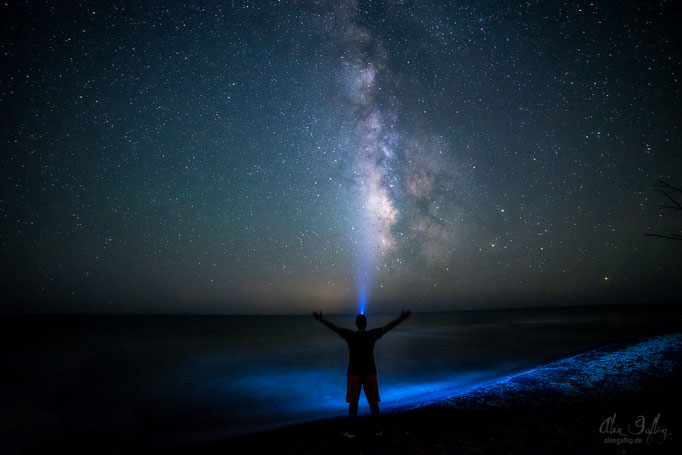Self Portrait under the Milky way