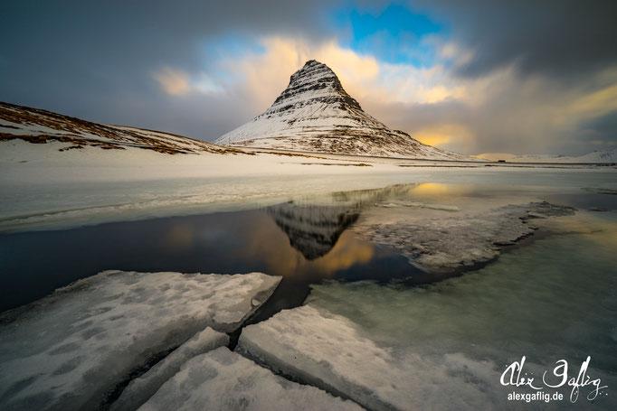 """""""SunrIce"""" - Kirkjufell, Iceland"""