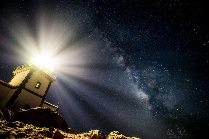 Lighthouse of the Galaxy - Santorini