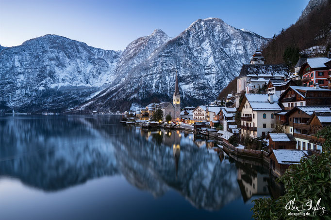 """Winter Morning"" - Hallstatt, Austria"