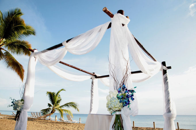 Puerto Rico destination beach wedding