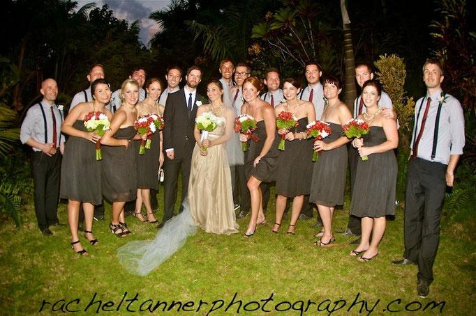 Rachel Tanner Photography wedding party