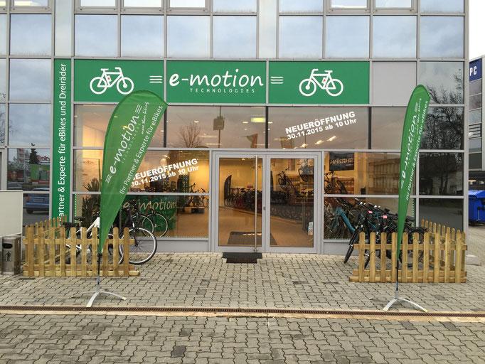 e-motion e-Bike Welt Nürnberg West feierte Eröffnung