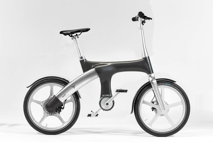 Mando Footloose IM e-Bike - dunkelgrau, 2699 €