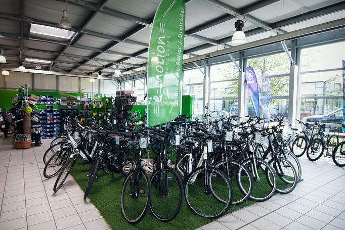 e-motion e-Bike Welt Düsseldorf
