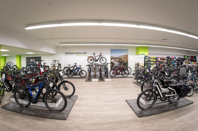 Die e-motion e-Bike Welt Münster ist ab sofort ein Riese & Müller Erlebnisstore