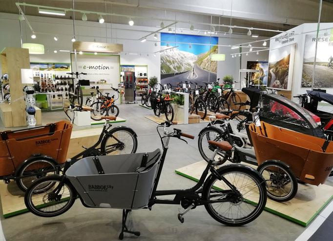 Cargo e-Bikes und Lastenfahrräder in Hanau