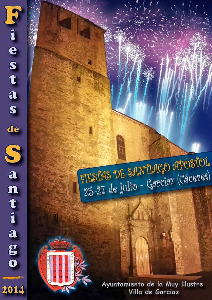 Cartel Consurso Fiestas Garciaz 2014