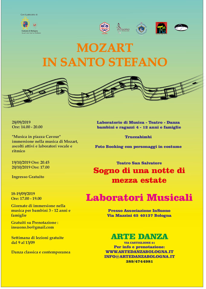 Mozart in Santo Stefano