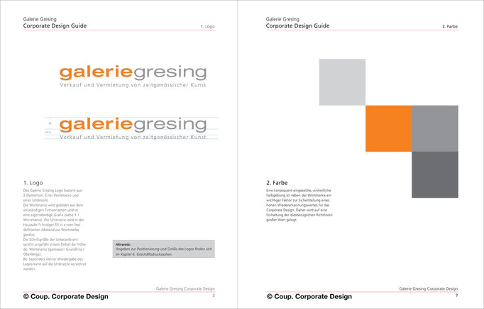 Corporate Design Guide | Konzeption und Design | © Coup. Corporate Design