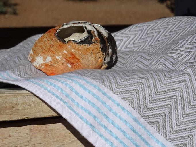 Mungo Tawulo Aqua Blue Handtuch