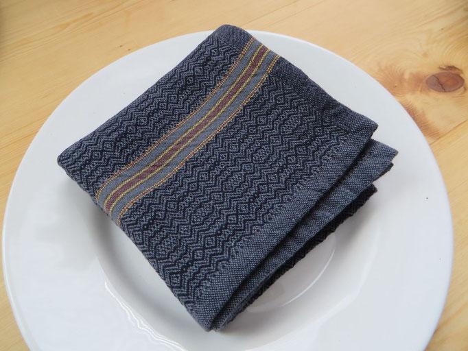 Mungo Boma Serviette Black Stone