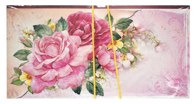 1-30-0136 Конверты Розы, 10 шт. #61397