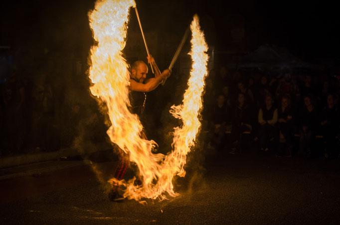 impulsante Feuerbilder und -effekte