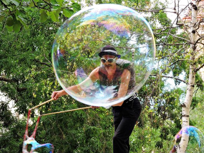 Die Magie der Seifenblasen