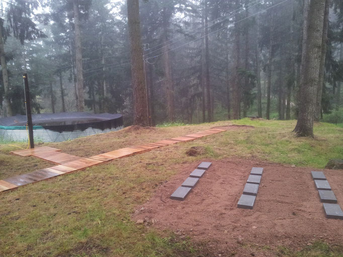 sencilla y efectiva base para la sauna