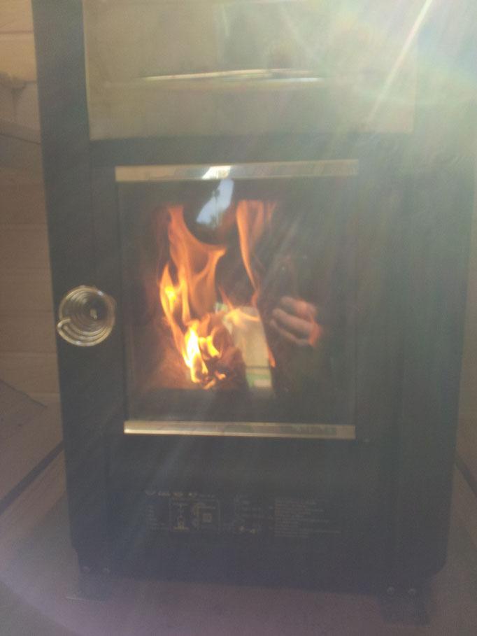 La sauna, la mantuvimos entre 60 y 70º para que la gente no pasara tanta calor vestida.