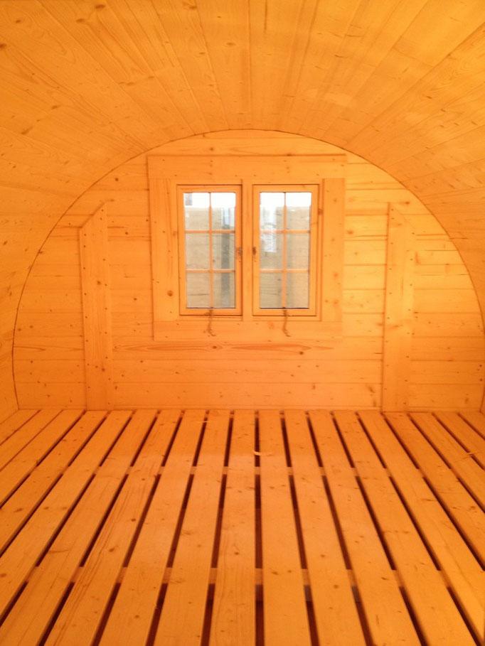 espacioso interior totalmente personalizable