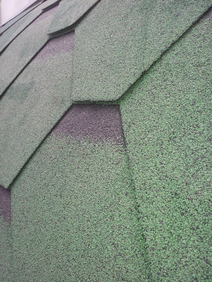 Detalle techo sintético