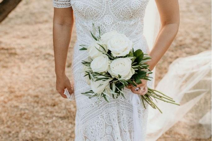 bouquet de mariée unifleurs