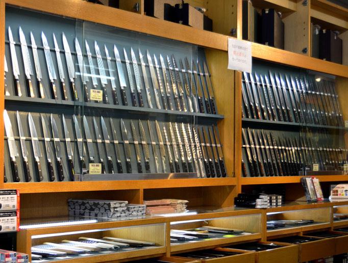 Tienda de cuchillos en kappabashi