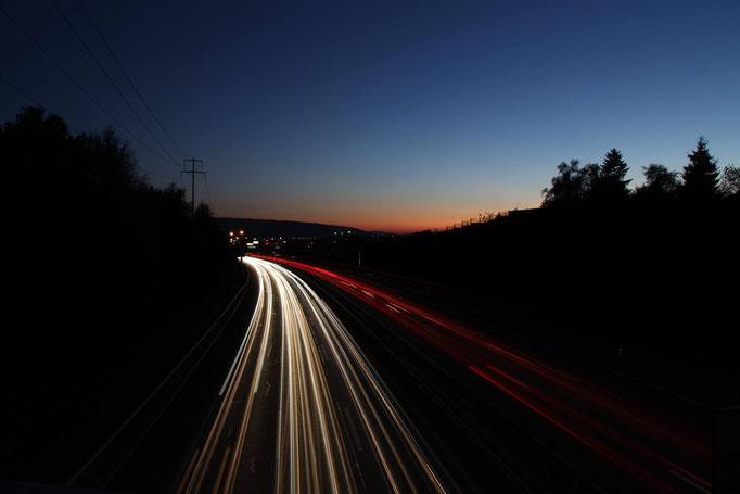 Autobahn A1 Richtung Bern