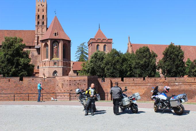 Marienburg Sitz des Ritterorden