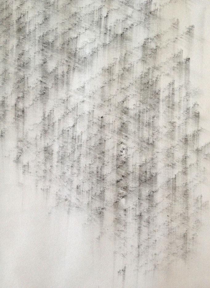 Bleistift auf Papier, 2013, Damaris Rohner