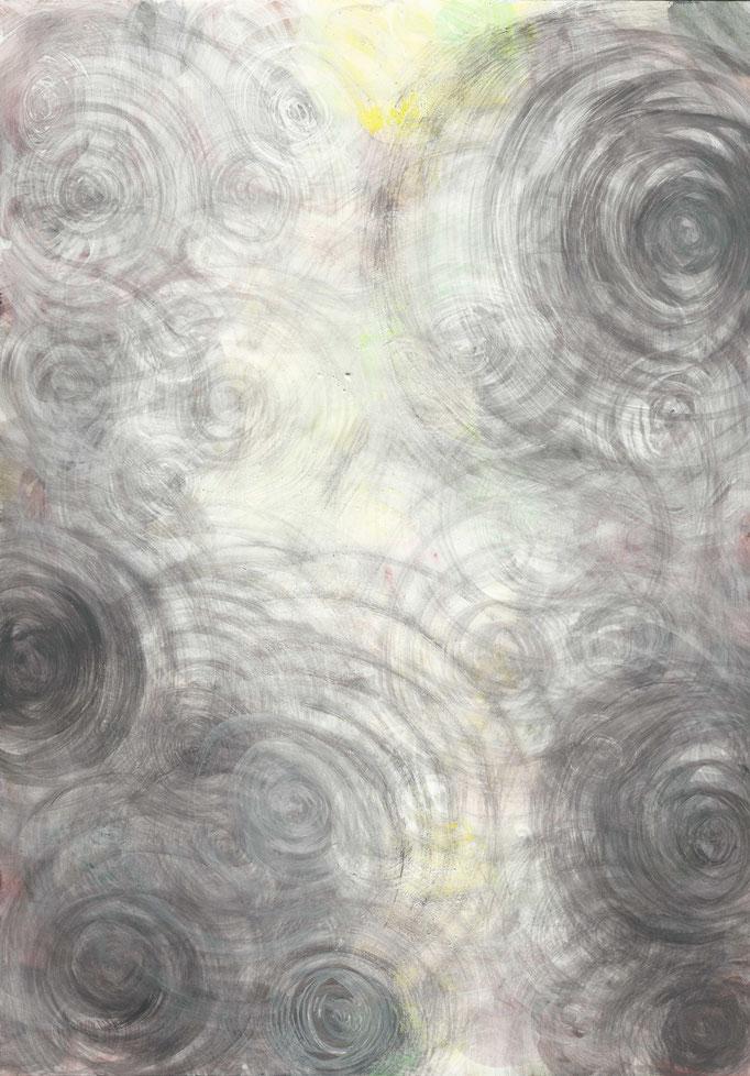Gouachefarbe auf Papier, 2013, Damaris Rohner