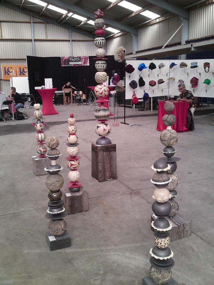 stapelingen expositie  KCA Aalsmeer