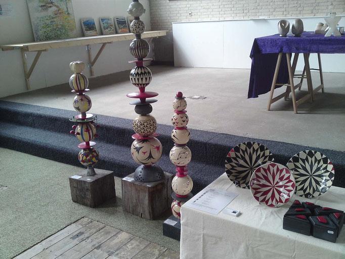 Stapelingen  expositie Texel