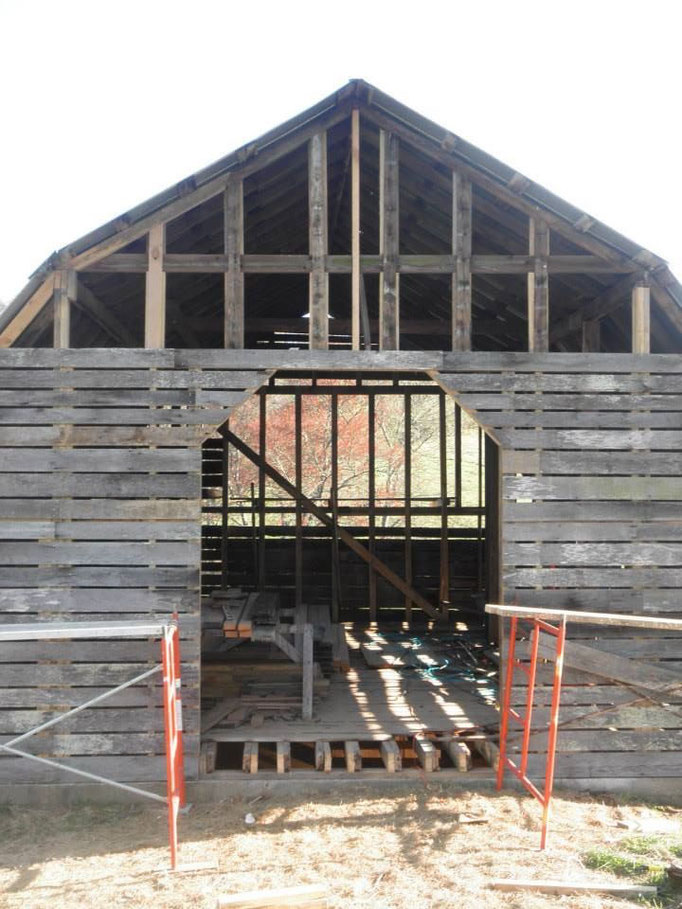 Payne Meadows Barn Restoration