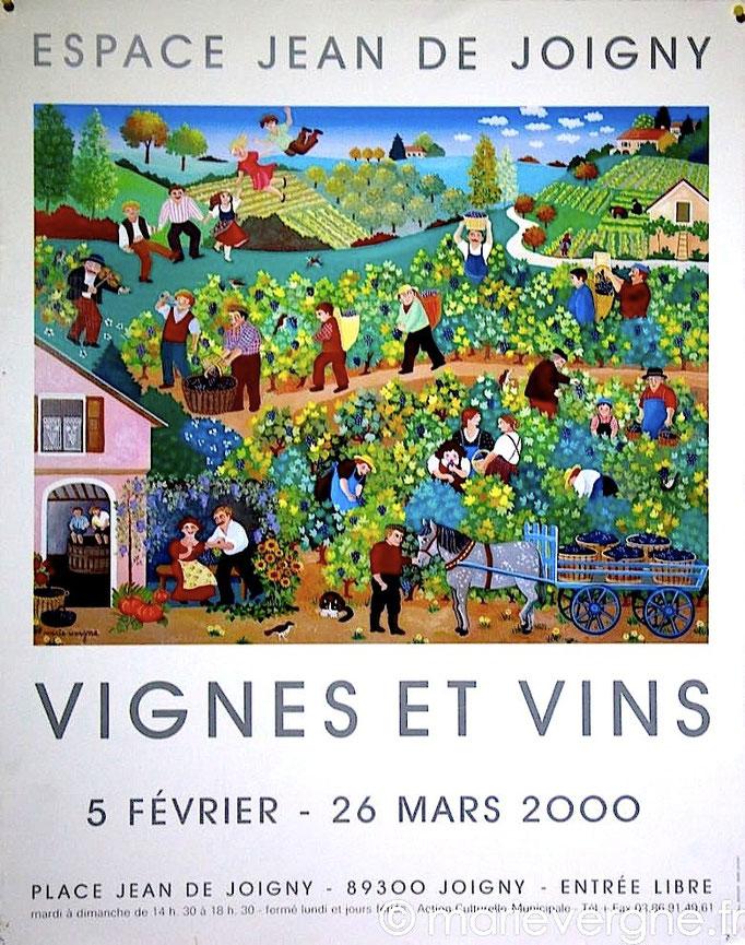 Vignes et vins - Joigny - 5 février / 26 mars 2000