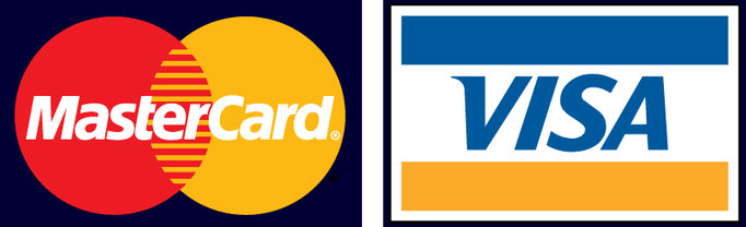 Kreditkarte, Mastercard , Visa card