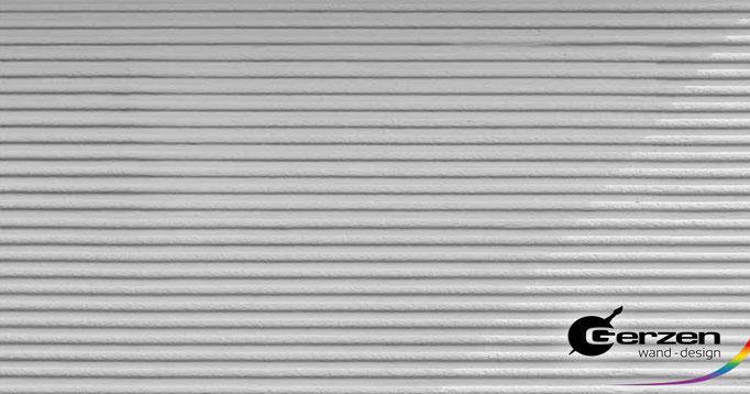 Kammputz - Außenputz, Fassadenputz - wagerechte Putzstruktur von GERZEN wand-design