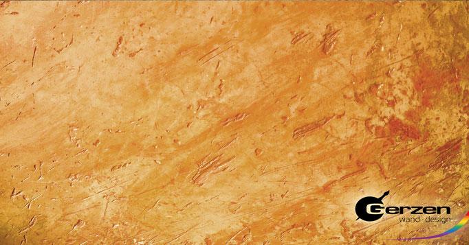 Volimea Dekorputze auf mineralischem Basis - wie ein kultivierter Geist... GERZEN wand-design