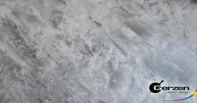 Stucco Veneziano mit Silber-Effekt GERZEN wand-design
